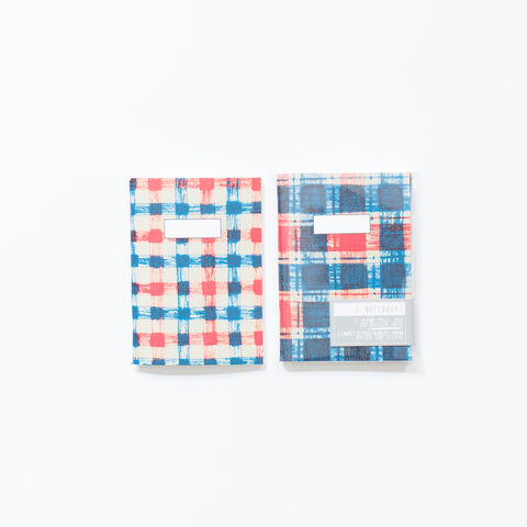 Plaid,Notebooks,notebooks, plaid, pocket sized, sketchbook