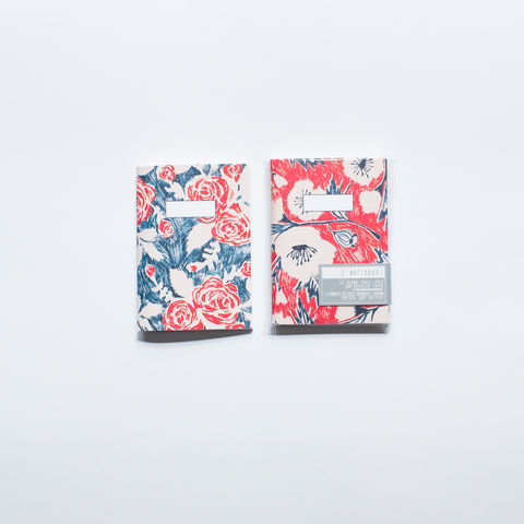 Rose,&,Poppy,Notebooks,notebooks, rose, poppy, pocket notebook, sketchbook