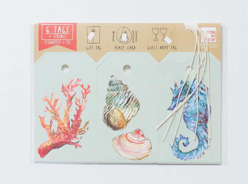 Sea Life Gift Tag - product images  of