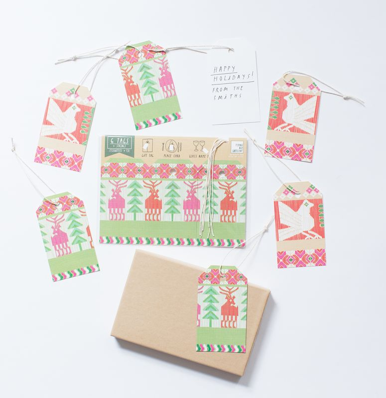 Winter Gift Tag - product images  of