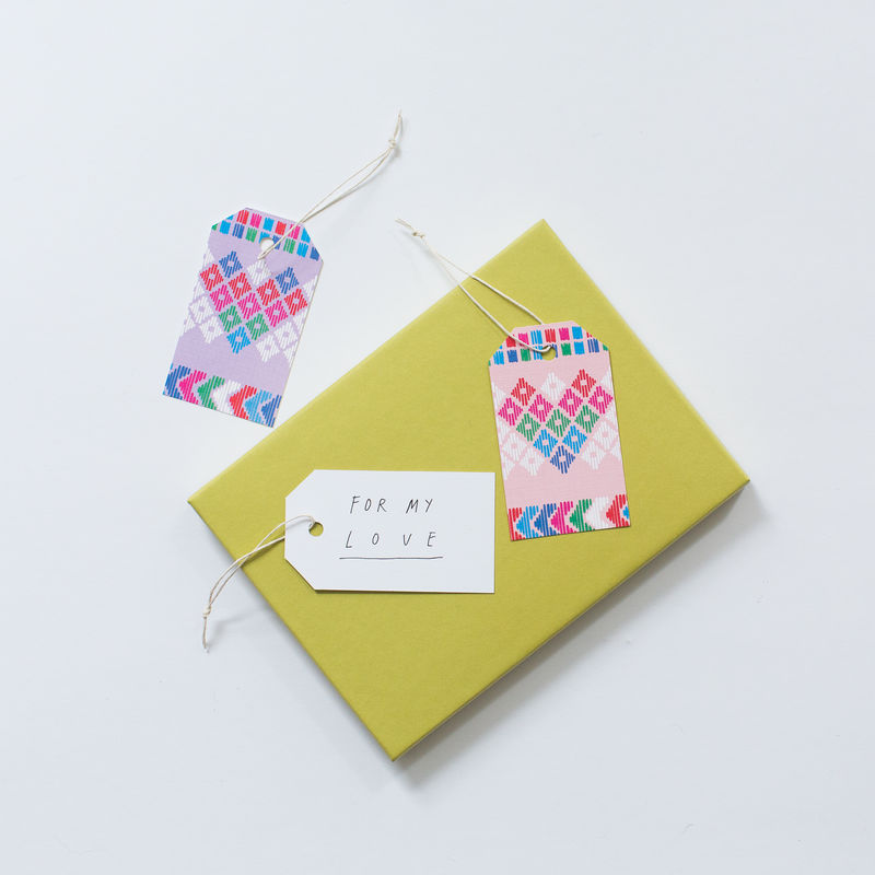Heart Gift Tag - product images  of