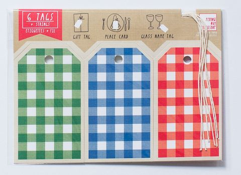 Gingham,Gift,Tag,gift tags, gingham