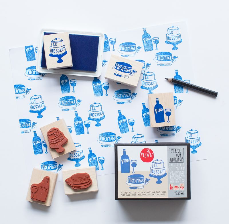 Le Menu Stamp Activity Kit - product images  of