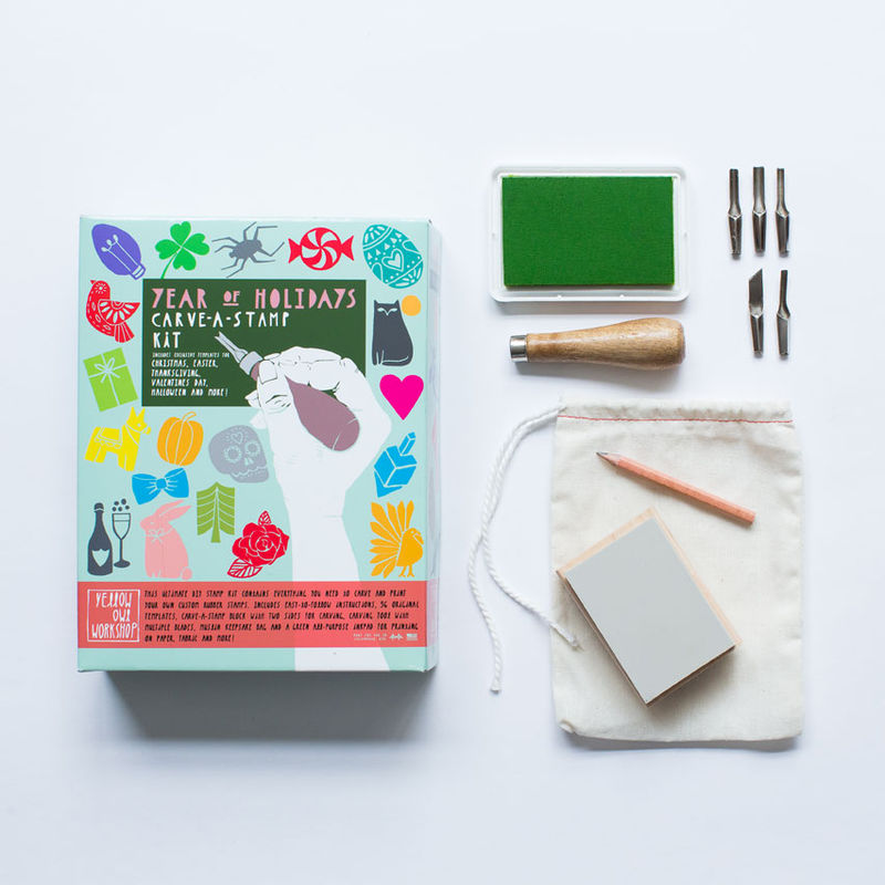 Year of Holidays Carve-A-Stamp Kit - product images  of