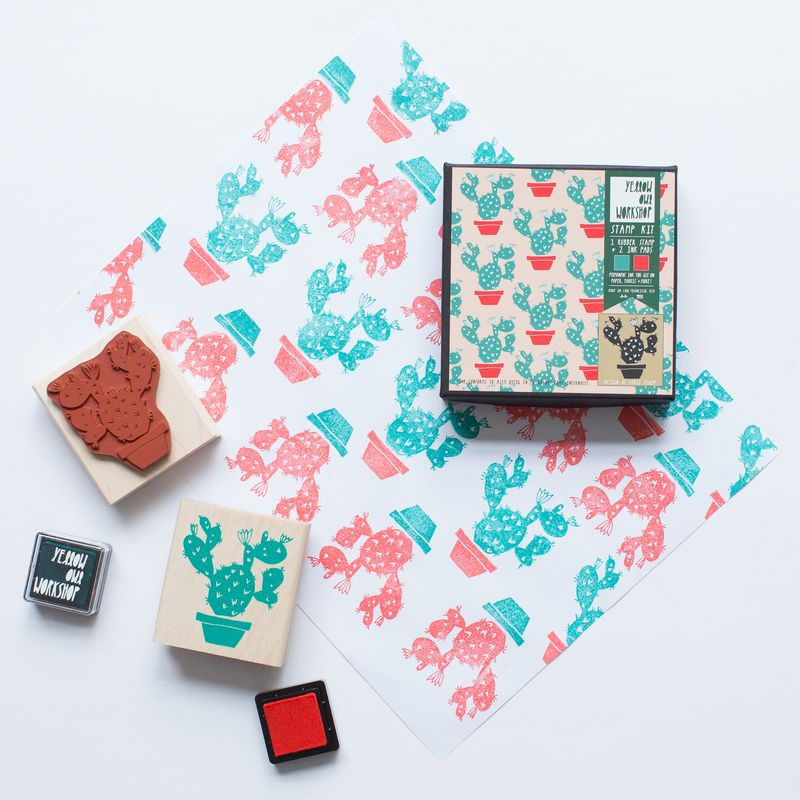 Cactus Pattern Stamp Set - product images  of