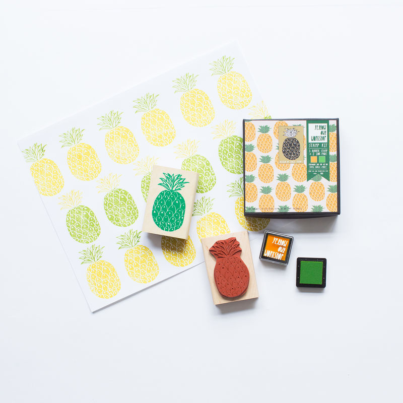 Pineapple Pattern Stamp Set - product images  of