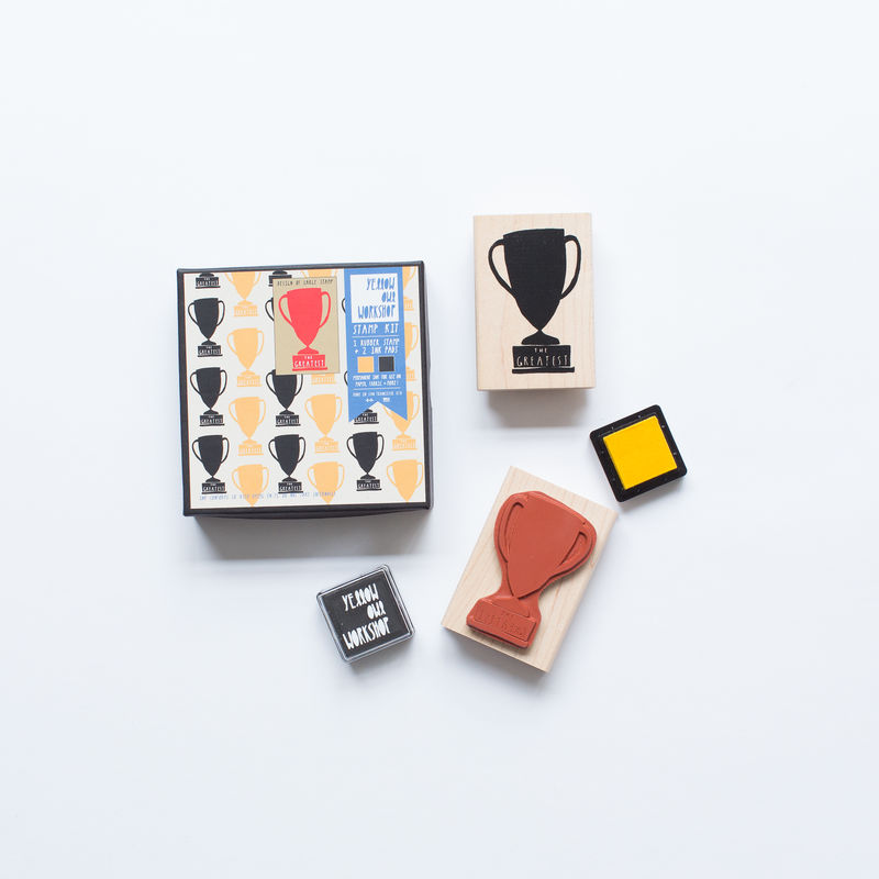 Trophy Pattern Stamp Set - product images  of
