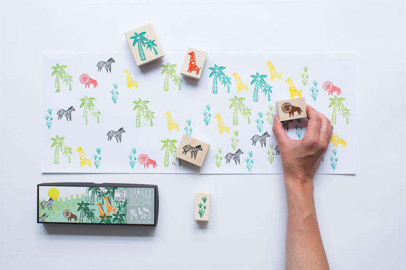 Jungle Stamp Set - product images  of