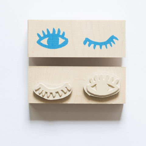 Eyes,Wink,Stamp, eyes, wink, Yellow Owl Workshop, Christine Schmidt, Craft, DIY, Stamping, Rubber Stamp