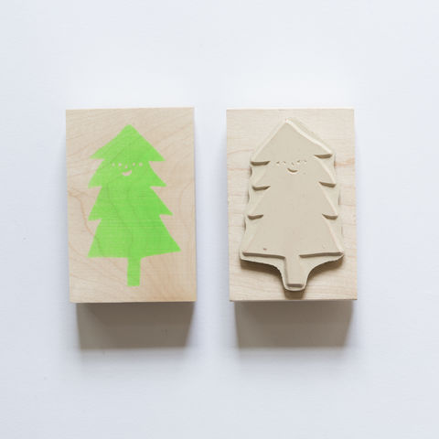 Christmas,Tree,Stamp, Christmas Tree, Tree, Pine Tree, Holiday, Yellow Owl Workshop, Christine Schmidt, Craft, DIY, Stamping, Rubber Stamp