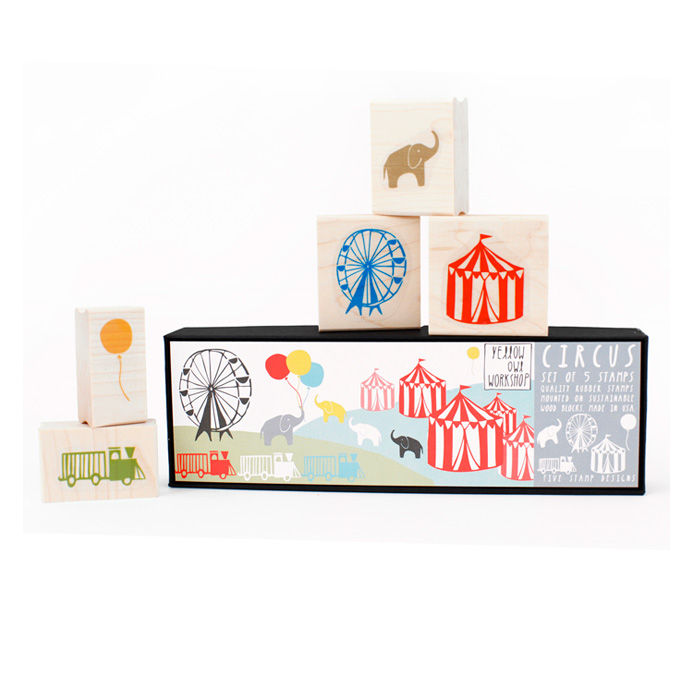 Circus Stamp Set - product images  of