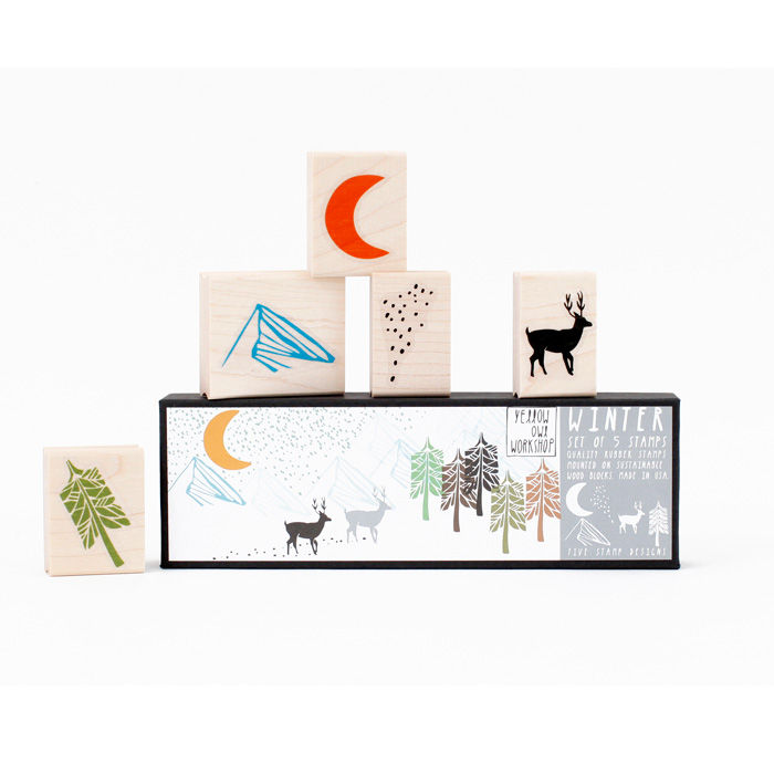 Winter Stamp Set - product images  of