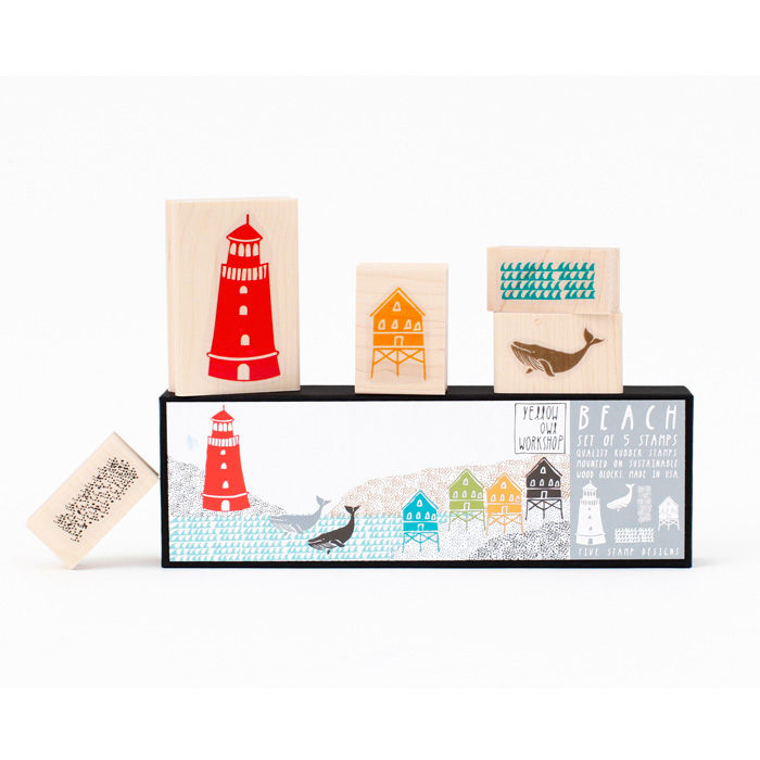 Beach Stamp Set - product images