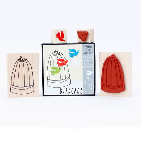 Birdcage,Stamp,Set,christine schmidt, yellow owl workshop, stamp set, birdcage stamp, bird stamp