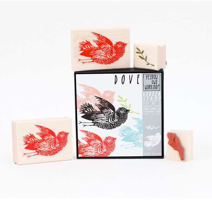 Dove + Vine Stamp Set - product images