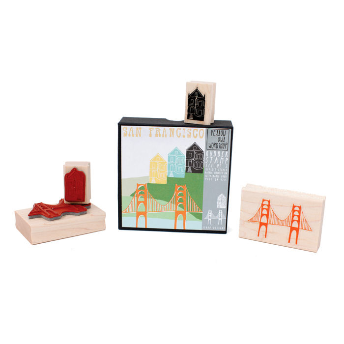 San Francisco Stamp Set - product images