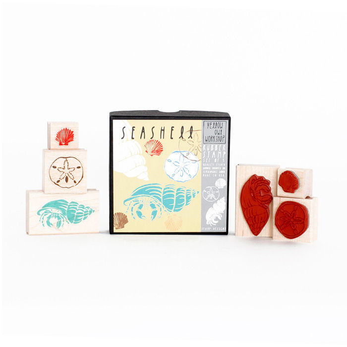 Seashell Stamp Set - product images