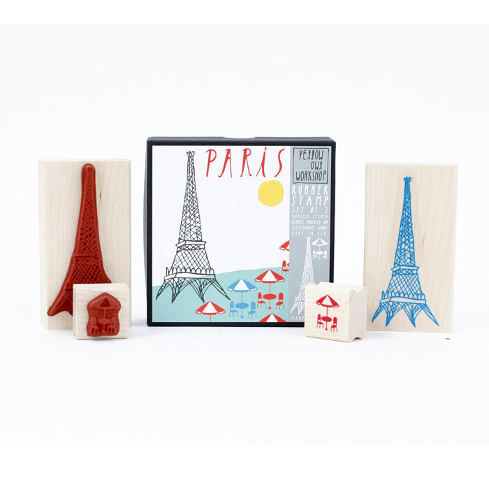 Paris Stamp Set - product images