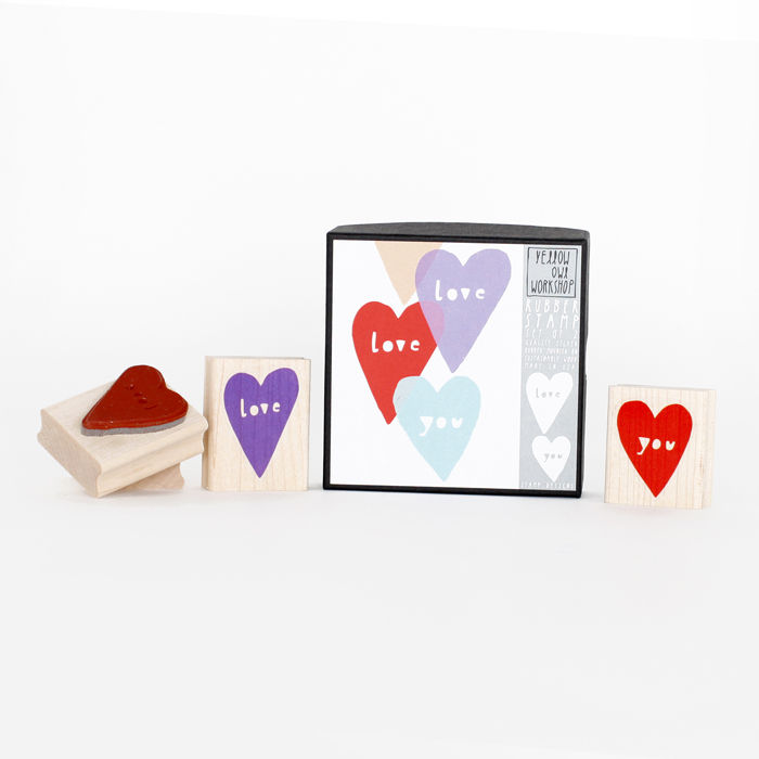 """Love You"" Stamp Set - product images  of"