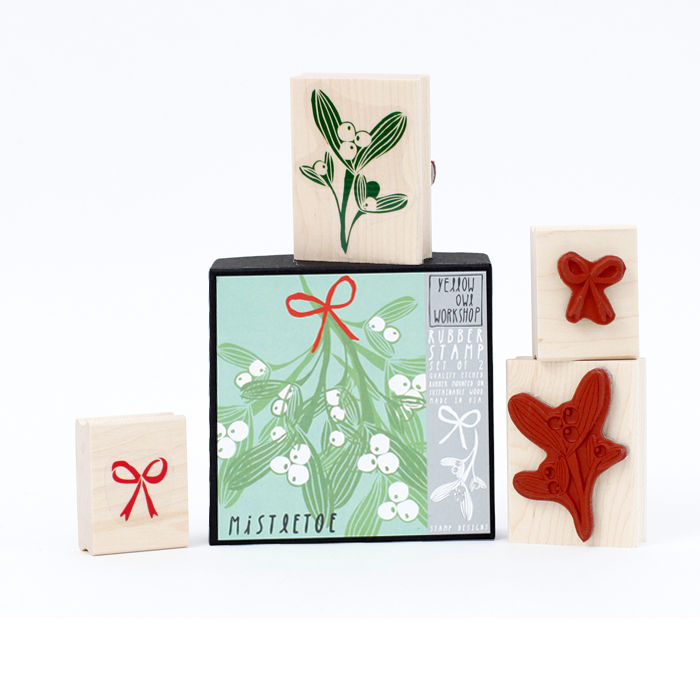 Mistletoe Stamp Set - product images