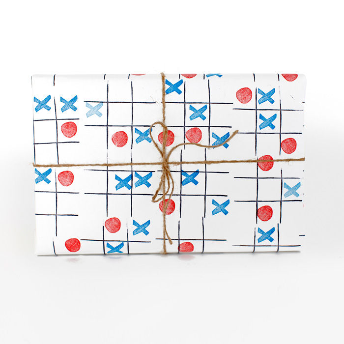 Tic Tac Toe Stamp Activity Kit - product images  of