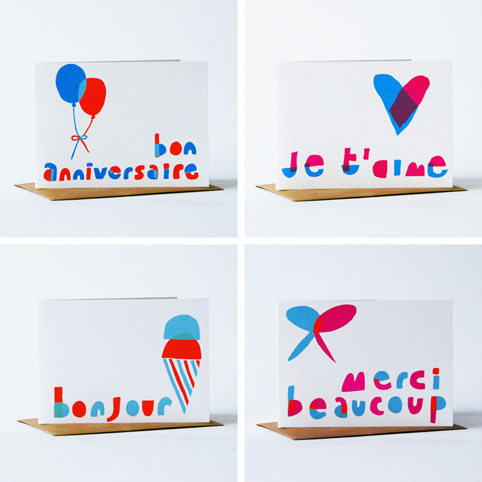 Notes en Français Card Card Set - product images  of