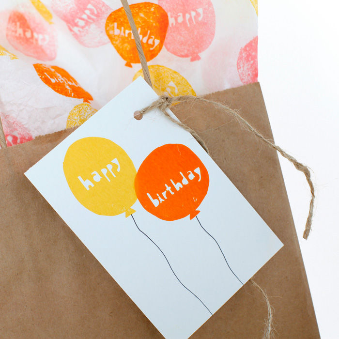 """Happy Birthday"" Balloons Stamp Set - product images  of"