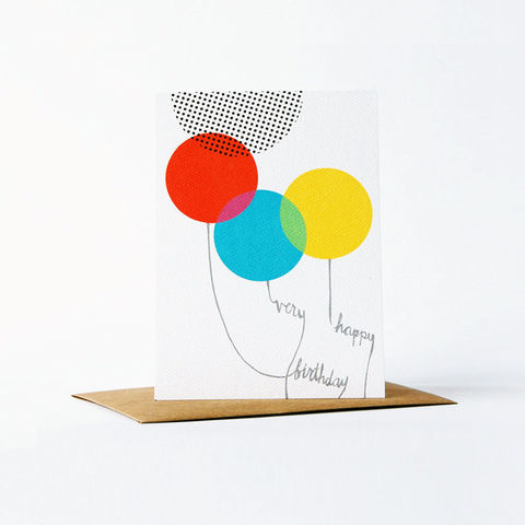 Dots,and,Dyes,Card,-,Happy,Birthday,christine schmidt, yellow owl workshop, birthday card, dots and dyes card, thank you card set