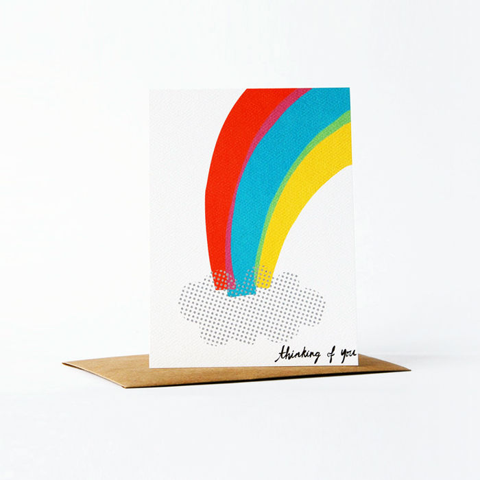 Dots and Dyes Card - Thinking of You - product images