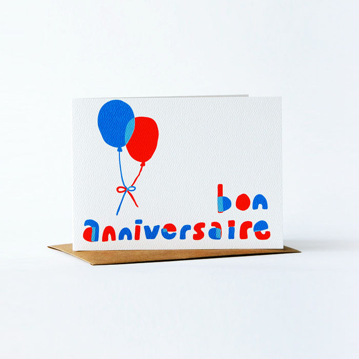 Notes en Français Card - Bon Anniversaire - product images