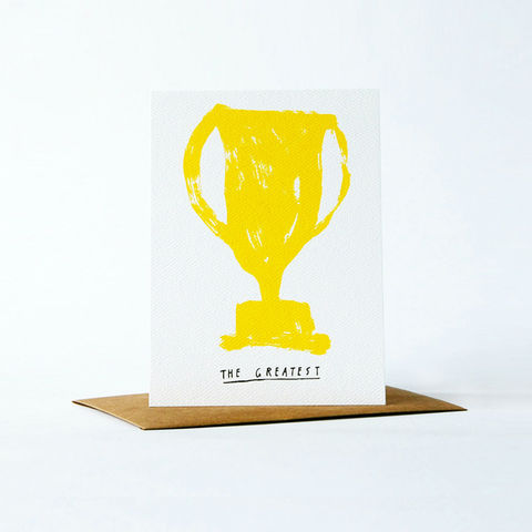 pictogram,Card,-,the,greatest,christine schmidt, yellow owl workshop, greeting card, pictogram card, congratulations card