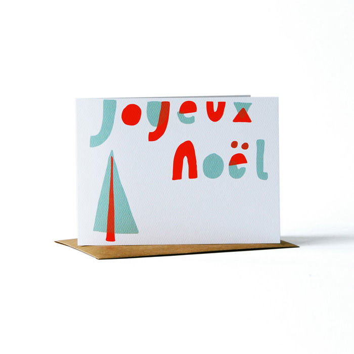 joyeux noel card - product images