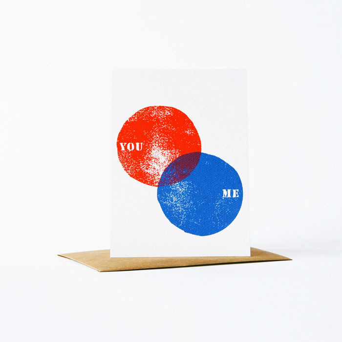 you/me card - product images