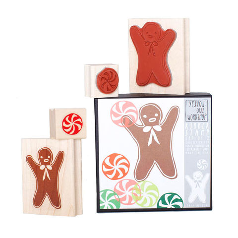Gingerbread,Mint,Stamp,Set,christine schmidt, yellow owl workshop, stamp set, gingerbread stamp, christmas stamp