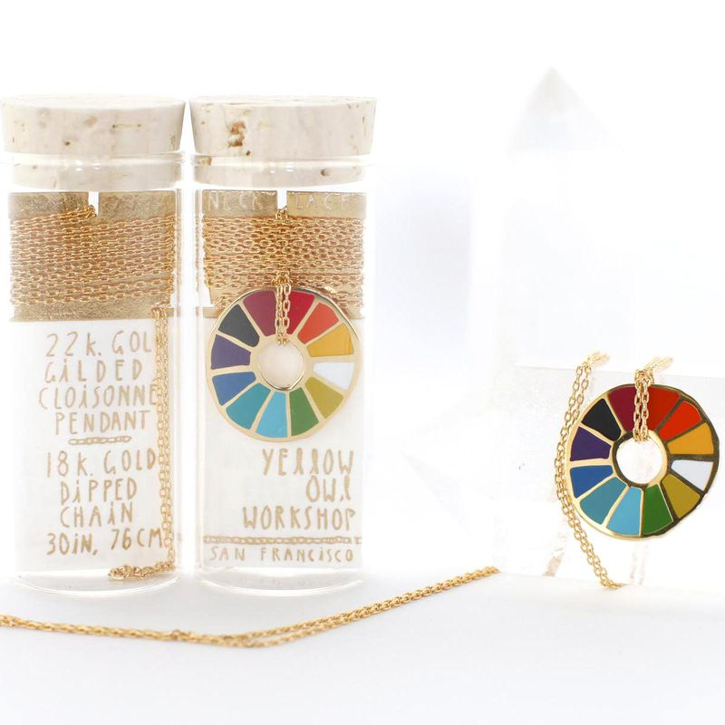 Color Wheel Pendant - product images  of