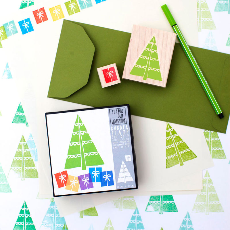 Christmas Tree Stamp Set - product images  of