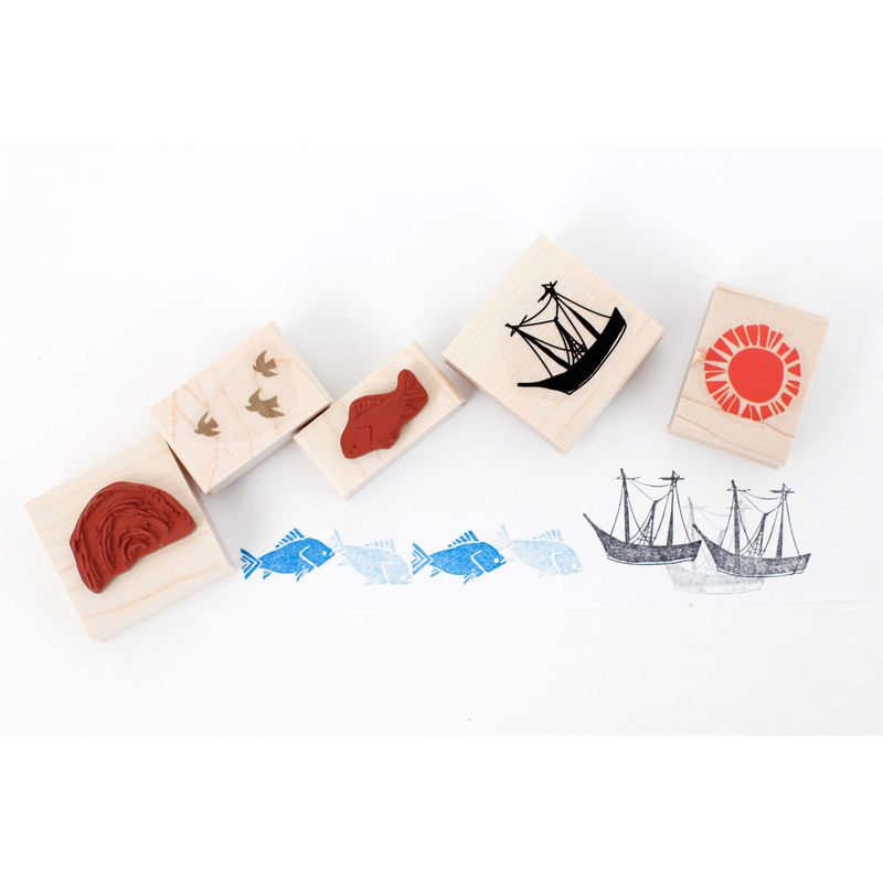 Sea Stamp Set - product images  of