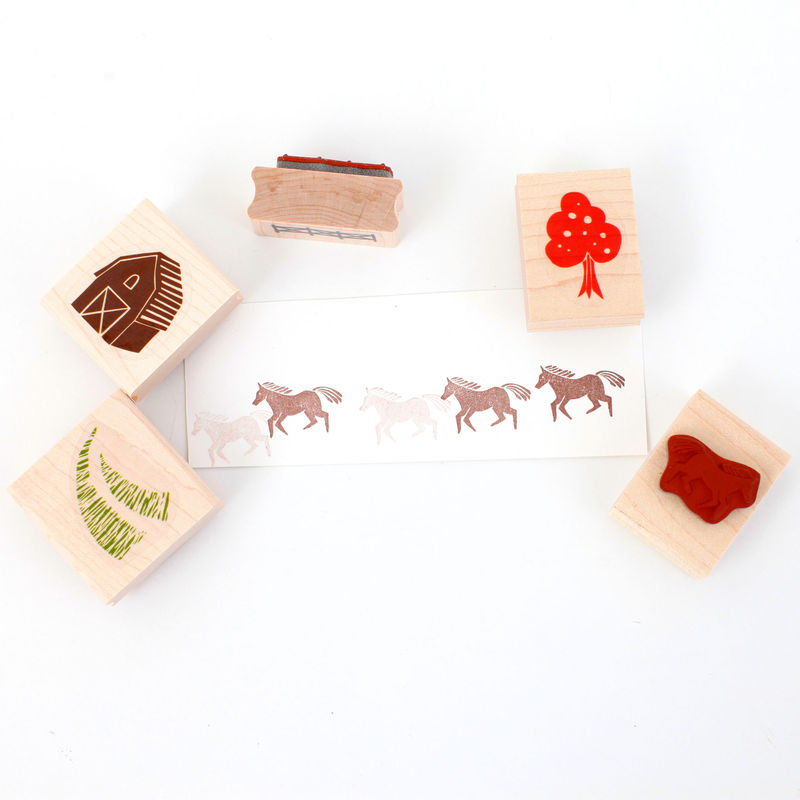 Farm Stamp Set - product images  of