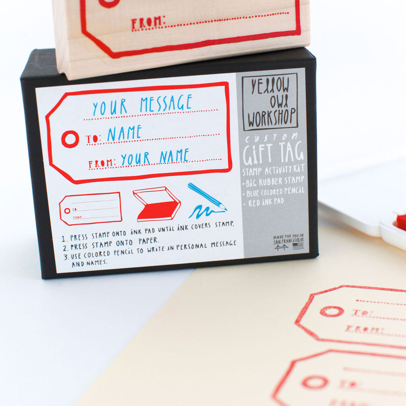 Gift Tag Stamp Activity Kit - product images  of