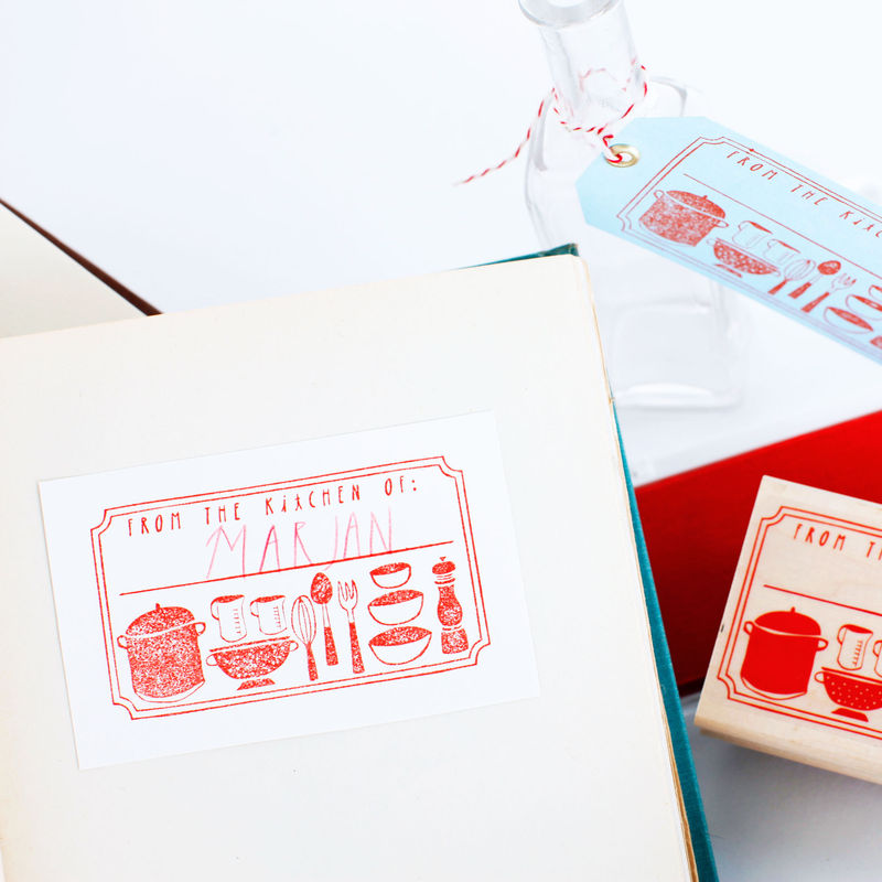 """From The Kitchen of:____"" Stamp Activity Kit - product images  of"