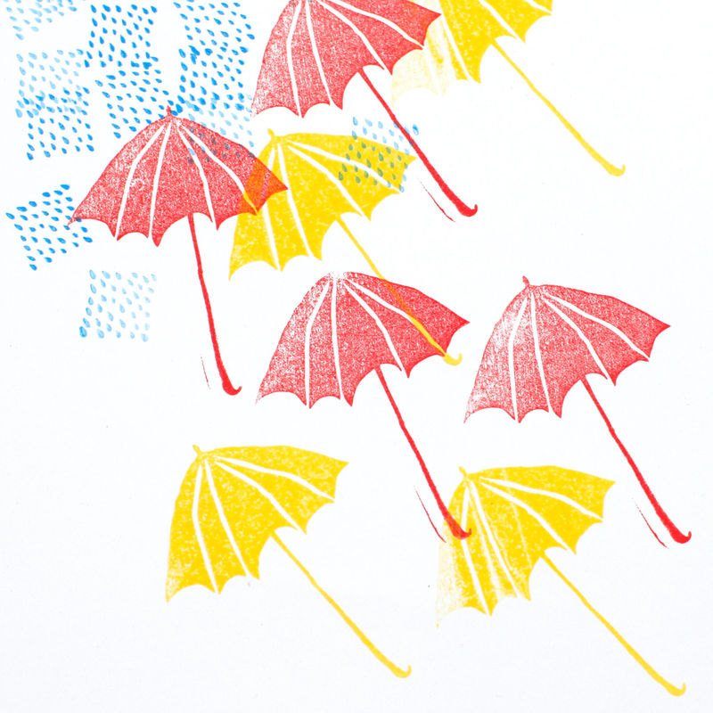 Umbrella Stamp Set - product images  of