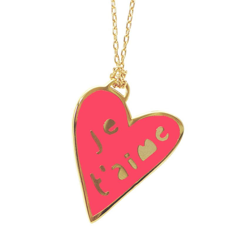 NEON Je T'Aime Pendant - product images  of
