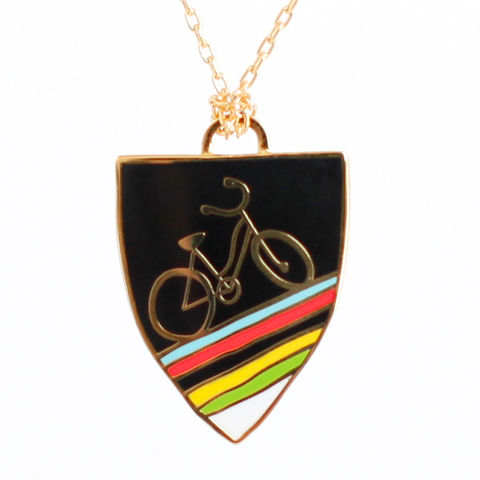 Bicycle,Pendant,bike, pendant, bicycle pendant, yellow owl workshop
