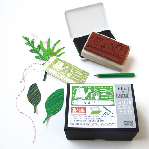 From,The,Garden,Of,Stamp,Activity,Kit,DIY, stamp, stamp kit, from the garden of, canning