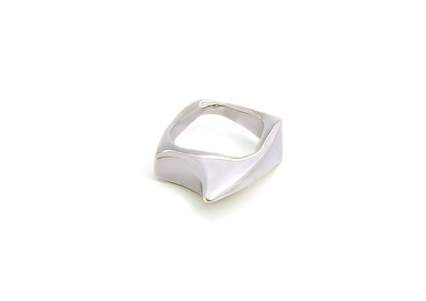 Kasia,Piechocka,-,Small,Weight,Ring,Plain,Kasia Piechocka, Lapel, Pendant, Jewellery, silver, gold, ring, jewelery, jewelry