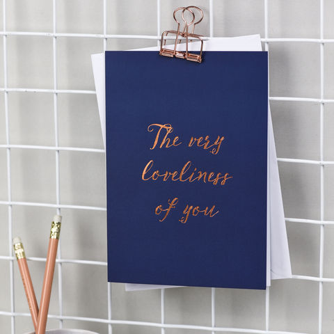 'The,Very,Loveliness,Of,You',friendship cards, mother's day cards, valentine's cards