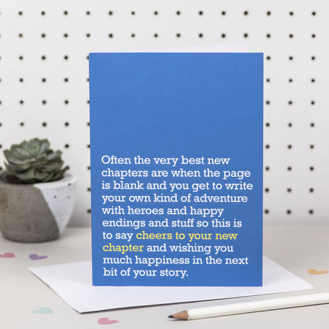 'Cheers,To,Your,New,Chapter',Card