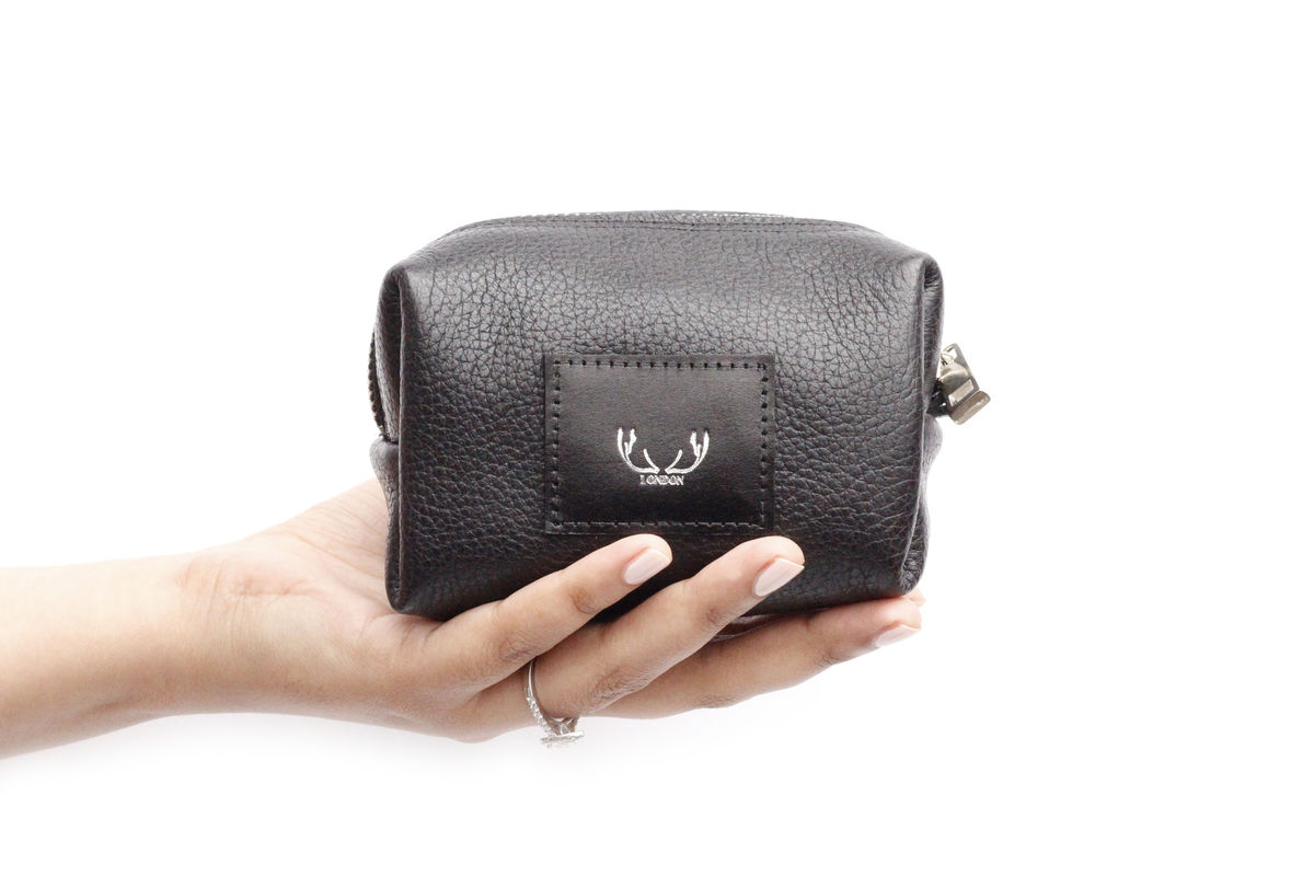 *NEW* Black Petite Millie Cosmetic Bag - product images  of