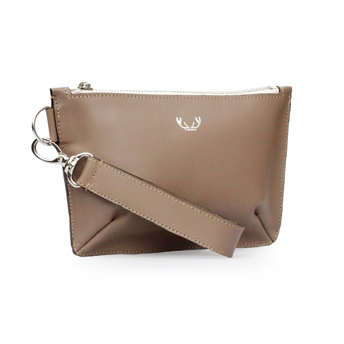 Mink Mini Sienna Clutch Bag - product images  of