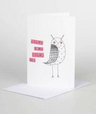Owl,Gift,Card,card,design,illustrated,gift,birthdays